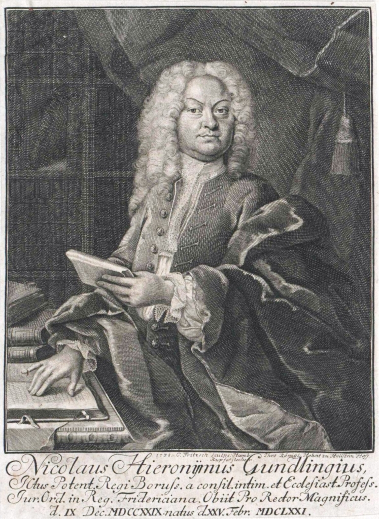Nikolaus Hieronymus Gundling